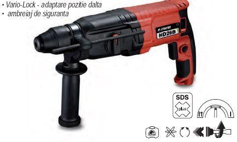 Ciocan rotopercutor SDS PLUS 800 W 2,8 J  PROMO***