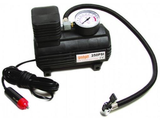 Compresor auto pentru umflare roti 12 V, 17 bar, 250psi AC08, Gadget