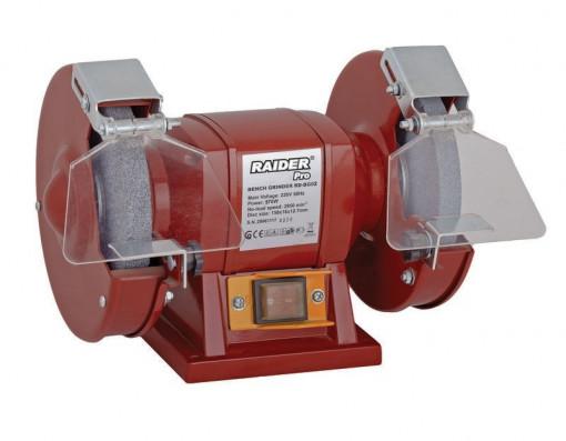 Polizor de banc 200mm, 370 W, RDP-BG02, Raider Professional