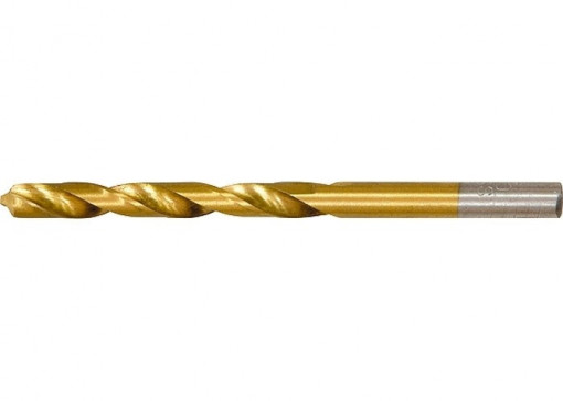 Burghiu pentru metal, 8,0 mm, acoperit cu nitrura de titan, coada cilindrica MTX