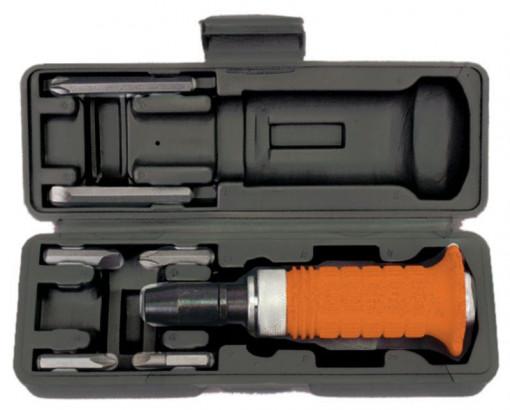 Surubelnita de impact 1/2 x 6 - 8 mm cu 6 biti Gadget