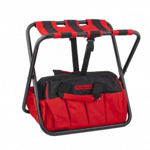 Geanta pentru scule cu scaun pliabil, 420 х 290 х 300 mm MTX Profesional