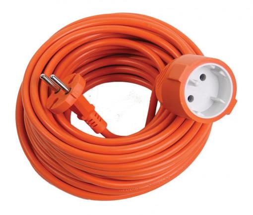 Prelungitor simplu portocaliu 15m 2x1mm, MAKALON