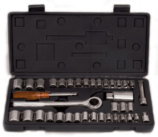 Set tubulare 39pcs 1/4 4-15mm Gadget