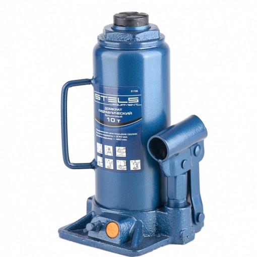Poze Cric hidraulic tip butelie, 10 t, H 230-460 mm, Stels
