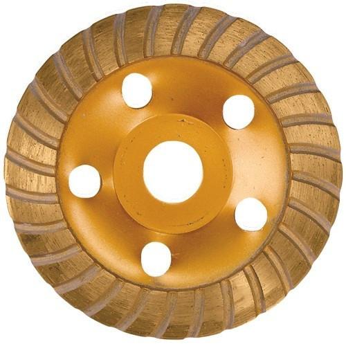 Disc diamantat pentru slefuit, in forma de ceasca, 125 mm, Turbo// MTX MASTER