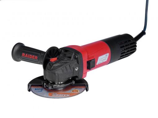 Polizor unghiular, profesional 125mm x 1050W RDI-AG47, Raider Power Tools