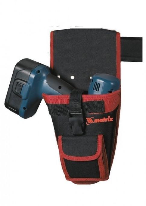 Suport pentru bormasina cu acumulator pentru curea cu buzunare MTX Profesional