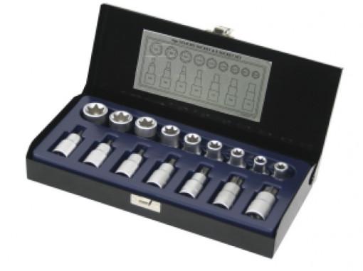 Biti torx T30 T70 + Tubulare E10 E24 Topmaster Profesional set 16 piese
