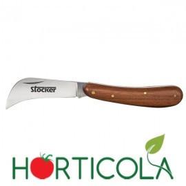 Cutit briceag pentru altoit cu lama secera de 64 mm, Stoker