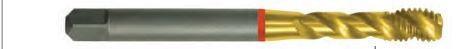 Tarozi lungi de masina, pas normal / fin, DIN 371/376/374, HSS-E ( Co 5% ), Forma C, TiN