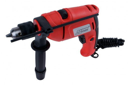 Masina de gaurit cu percutie 760W 13mm RD-ID02, Raider Power Tools