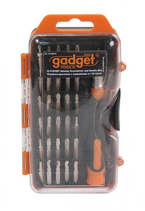 Surubelnita cu clichet 32 biti Gadget