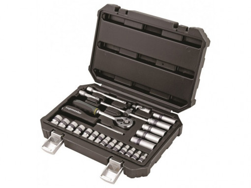 "Trusa tubulare 1/4"" x 25 piese,4-14 mm CrV, Topmaster Profesional"
