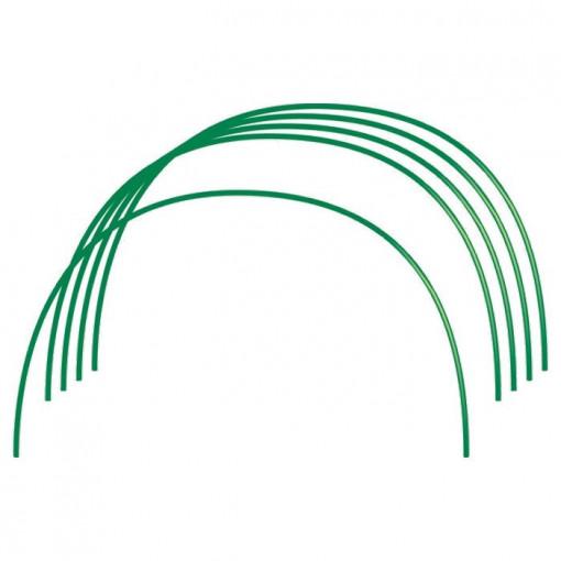 Arcuri pentru sera, PVC 0,75 x 0,9 m, 6 buc., diametru teava 10 mm