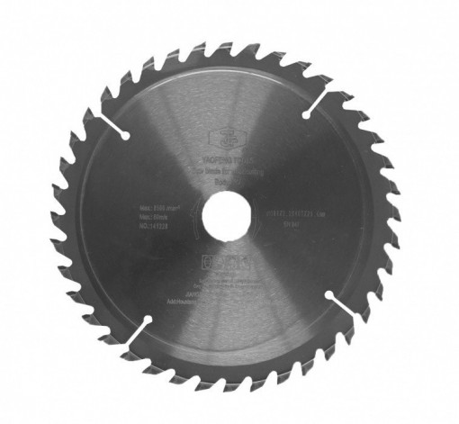 Disc circular taiere in lemn, 185 mm x 20mm x 40T, HECHT