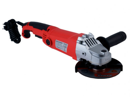 Polizor unghiular 125mm 1200W RD-AG37, Raider Power Tools