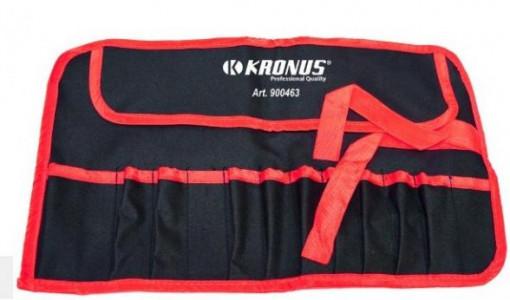 Suport textil cu 12 buzunare pentru scule, Kronus