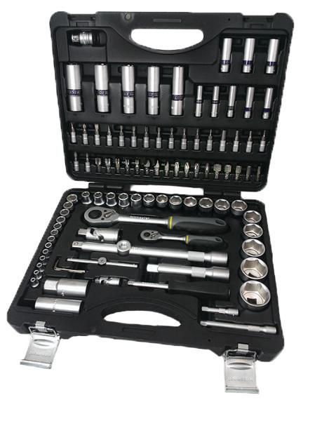 """Trusa tubulare 1/4"""" & 1/2"""" x 94 pcs 4 32 mm 72T CRV Topmaster Profesional"""