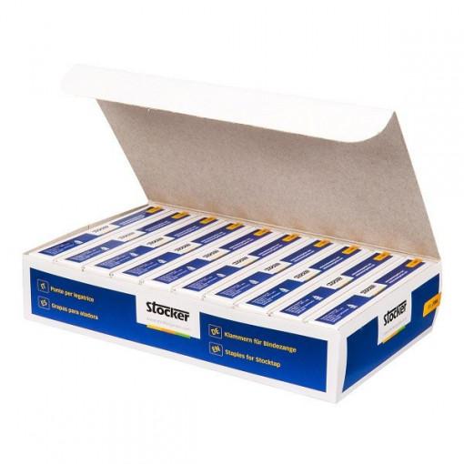 Capse pentru aparatul de legat (4.800 capse/cutie), Stoker
