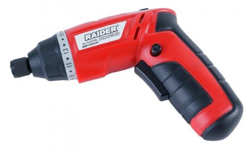 Surubelnita cu Acumulator RDP-CSCL01, Raider Power Tools