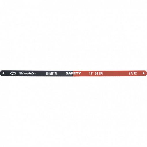Set 2 buc, panze bimetal pentru bomfaier, 300 mm, 24 TPI, MTX Profesional