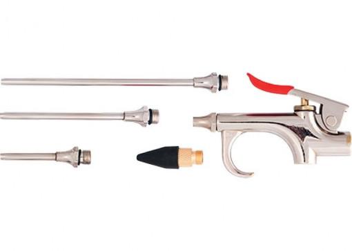 Set pistol purjare, pneumatic in set cu 4 buc duze, MTX Profesional