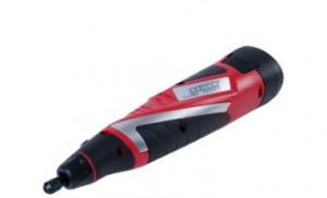 Bormaşină Cu Acumulator, Mini polizor drept, Lampă cu LED, Accesorii, geanta set •