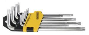 Chei imbus torx-extralungi  set 9pcs CR-V Topmaster