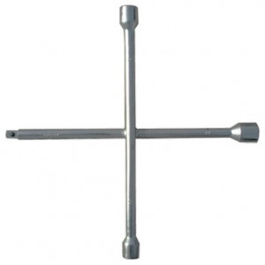 Cheie cruce pentru roti, 17 х 19 х 21 х 22 mm, grosime 14 mm, SiberTech