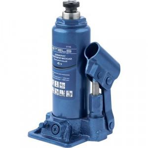 Cric hidraulic tip butelie, 4 t, H 194-372 mm, Stels