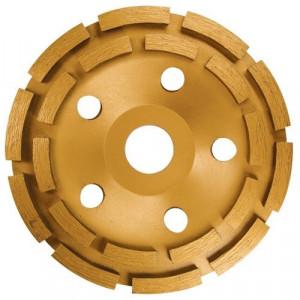 Disc diamantat pentru slefuit intens, 125 mm, doua randuri // MTX Profesional