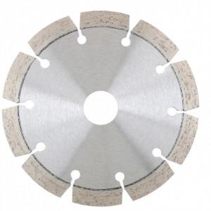 Disc diamantat , segmentat cu laser, taiere uscata, 125 х 22,2 mm // GROSS