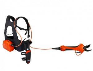 Foarfeca electrica Vulcano E-30 TP cu ham de umeri pentru baterie si cablu, Stoker