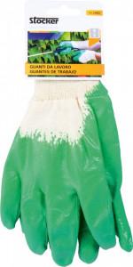 Manusi de lucru nitril - masura 8 - verde deschis, Stoker