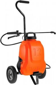 Pompa tip rucsac ELECTRO 12 litri, Li-ION cu carucior, Stoker