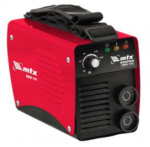 Aparat de sudura cu arc invertor IWM - 220, 220 A, ciclu de serviciu 80%, diam. 1,6-5 mm, MTX Profesional