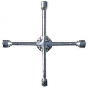 "Cheie cruce pentru roti, 17 x 19 x 21 mm, patrat 1/2 ""armat, grosime de 16 mm,  MTX Profesional"