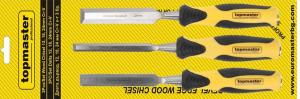 Dalti pentru lemn 12-24mm set 3pcs CR-V Topmaster