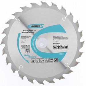 Disc pentru taiat lemn 160 x 20/16 mm x 24T Gross Germania