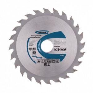 Disc taiat lemne, 130x20/16x24T, Gross