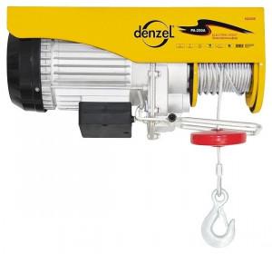 Electropalan TF1000, 1 t, 1600 W, înălțime 12 m, 8 m / min, DENZEL