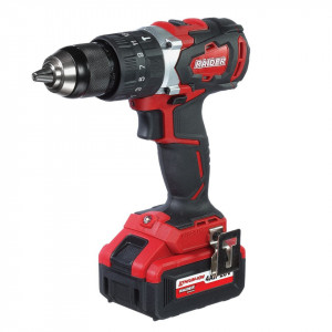 Masina de gaurit insurubat cu acumulator Li-ion 20V 2x4Ah 62Nm, Raider Power Tools