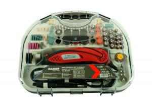 Mini freza biax set cablu & accesorii, 135W RD-MG06D, Raider (Standard)