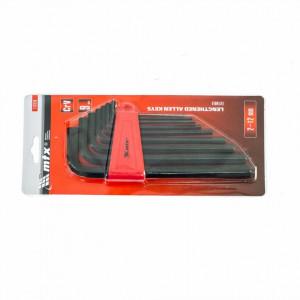 Set chei imbus lungi (hex), 2,0-12 mm, 9 buc. MTX Profesional