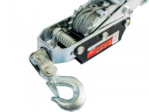 Troliu manual, tragere max - 4t, ridicare 1.6t, roata cu clichet, MTX Profesional