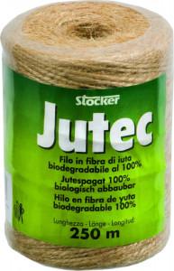 Fir biodegradabil din fibra de iuta 100% Jutec, 250 m, Stoker