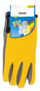 Manusi de gradina pentru copii KIDS GARDEN - culoare galben, Stoker