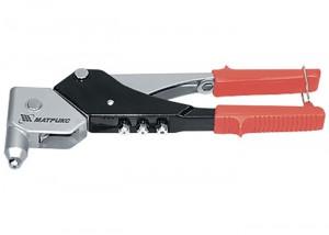 Cleste pop-nituri, 263 mm, cap rotativ 0-360°, pentru pop-nituri 2,4-3,2-4,0-4,8 mm MTX Profesional