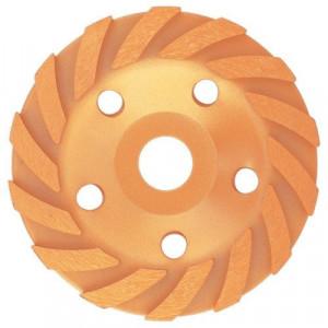 Disc diamantat pentru slefuit , in forma de cupa, 125 mm, turbo-segmentat // MTX Profesional